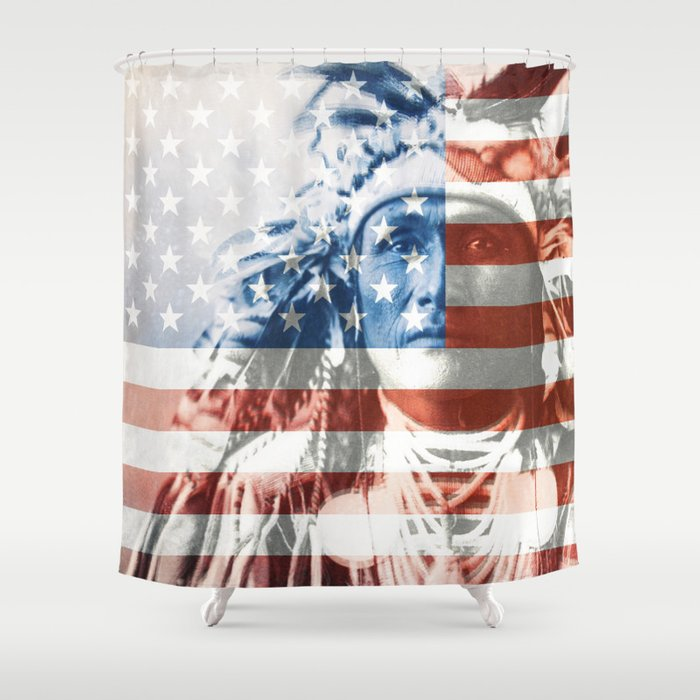 Native Americans in the United States Shower Curtain