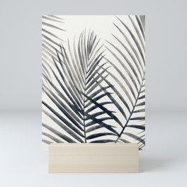 Black and White Palms Mini Art Print