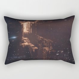 Dark City Rectangular Pillow