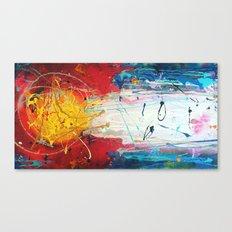 Colorado Abstract Flag #2 Canvas Print