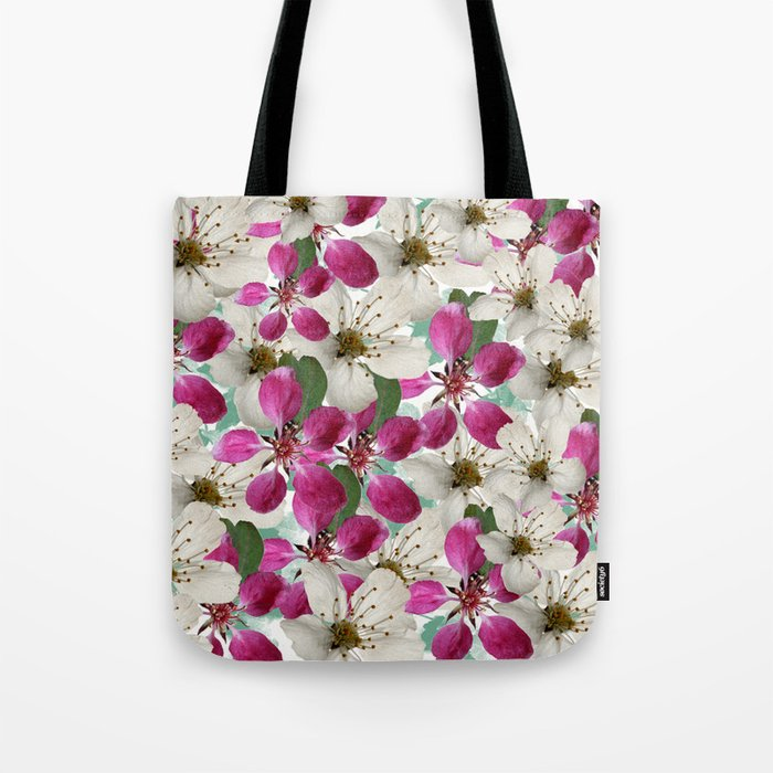 Spring Blossoms Abstract  Tote Bag