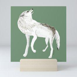 Totem Alaska tundra wolf Mini Art Print