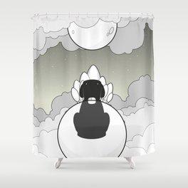 Sky Beast Shower Curtain