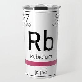 Rubidium - chemical element Travel Mug