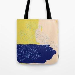 Mustard Sea Tote Bag