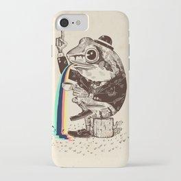 Strange Frog iPhone Case
