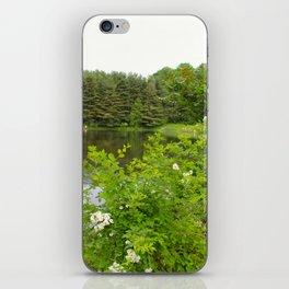 Wild Flowers on the lake iPhone Skin