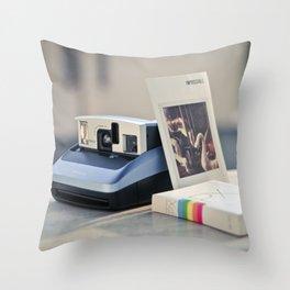 Never Ending Polaroid Throw Pillow