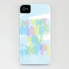 Do What Makes You Happy iPhone (4, 4s) Slim Case