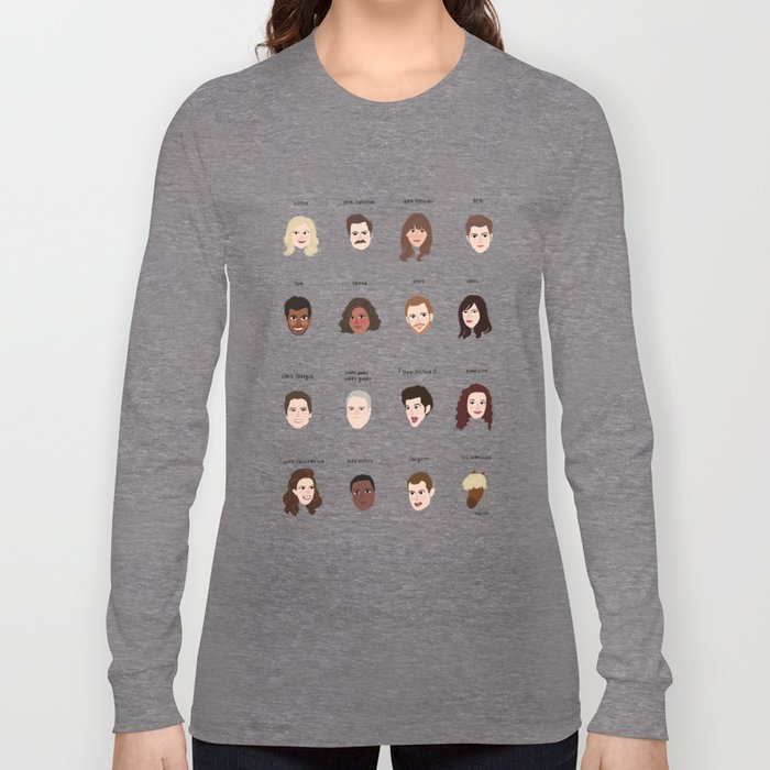 Cutie Pies of Pawnee Long Sleeve T-shirt