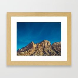 Utah Ridge Framed Art Print