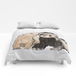Ferret Kisses Comforters