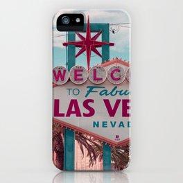 Retro Las Vegas iPhone Case