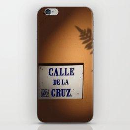 De la Cruz, Old San Juan Light iPhone Skin