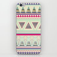 aztec iPhone & iPod Skins featuring Aztec by ALT + CO