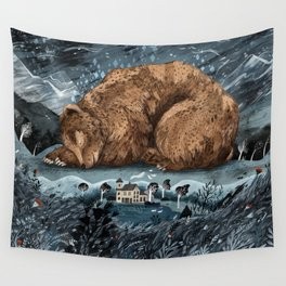 The Lake House Wall Tapestry
