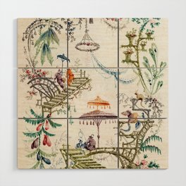Enchanted Forest Chinoiserie Wood Wall Art