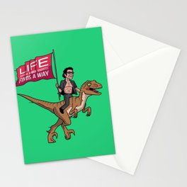 Life (UHHH) Finds A Way Stationery Cards