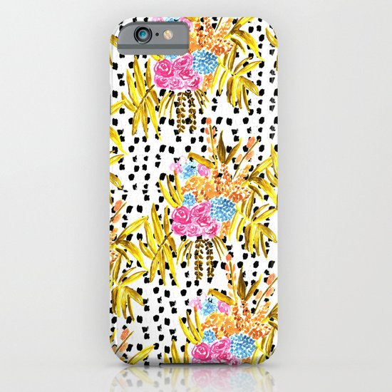Patterned Bouquet II iPhone & iPod Case