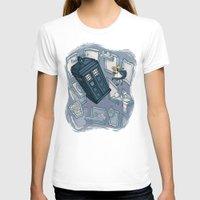 hallion T-shirts featuring Falling by Karen Hallion Illustrations