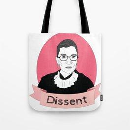RBG Dissent Tote Bag