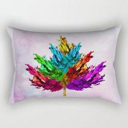 Joyful leaf Rectangular Pillow