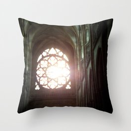 St. Vitus Cathedral: Prague, Czech Republic Throw Pillow