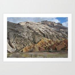 Split Mountain, Dinosaur National Monument Art Print