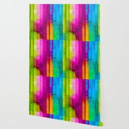 Vertical Rainbow Color Palette Wallpaper