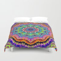 carnival Duvet Covers featuring Carnival by Groovity