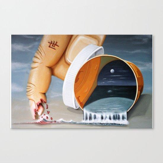 """Pill Bottle"" Canvas Print"