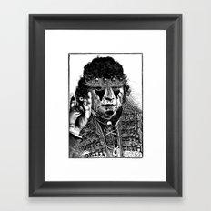 HEAVY METAL II Framed Art Print
