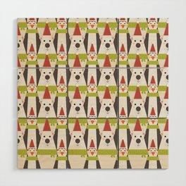Penguins & Polar Bears (Patterns Please) Wood Wall Art