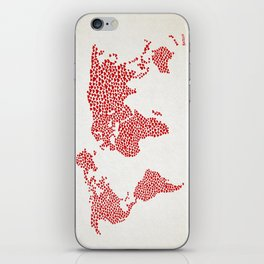 Love, You Are My World iPhone Skin