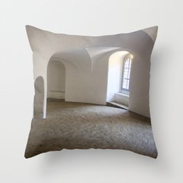 Copenhagen Round Tower 3 Throw Pillow