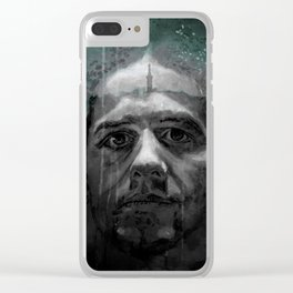 MICHAEL in TRIER Clear iPhone Case