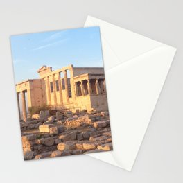 The Acropolis in Athens, Greece Stationery Cards