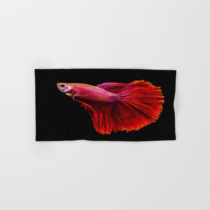 Siamese fighting fish Hand & Bath Towel