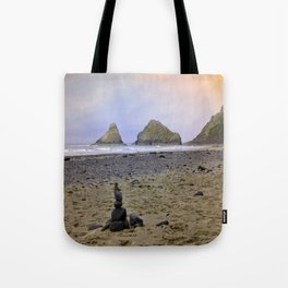Heceta Head - Autumn At The Beach Tote Bag