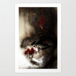 +phantoms in the echos+ (2012 edition) Art Print