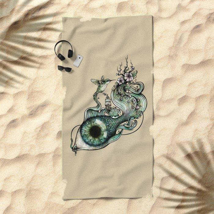 Flowing Inspiration Beach Towel