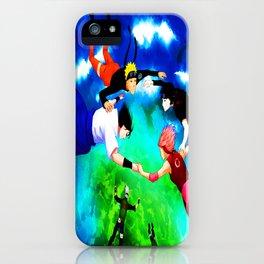 flying ninja iPhone Case