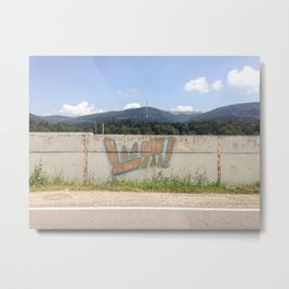 URBAN IN THE COUNTRY Metal Print