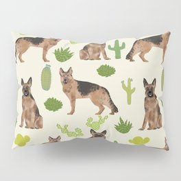 German Shepherd Cactus desert southwest dog lover gifts dog breed service dog Pillow Sham