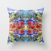 africa Throw Pillows featuring Africa by CrismanArt