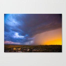 Monsoon Coming Canvas Print