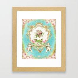 French Baroque Patisserie Tea Framed Art Print