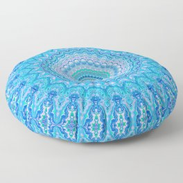 Frosty Opalescence Floor Pillow