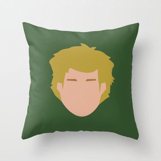 Star Wars Minimalism - Luke Skywalker Throw Pillow