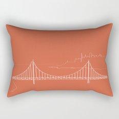 San Francisco by Friztin Rectangular Pillow